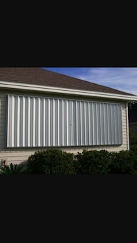 Hurricane shutters installation and removal service  Lake Worth, 33467