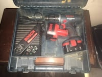 Bosch  cordless drill And  Wilmington