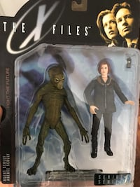 McFarlane X-Files Agent Scully action figure