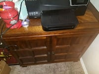 Solid Wood File Cabinet OBO