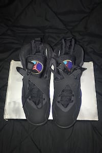 Size 9 Air Jordan 8 Retro 2007 release in original box worn 4 times