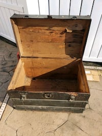 Authentic steamer trunk