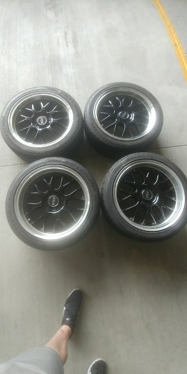 Used Asa Ar1 17x8 17x9 Wheels 5x120 For Sale In Colorado Springs
