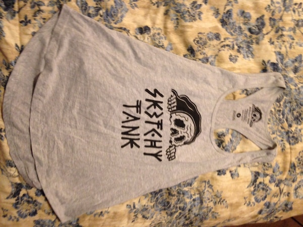Used Sketchy tank brand tank top women s sz S for sale in Olympia - letgo 9c5d7c9e52