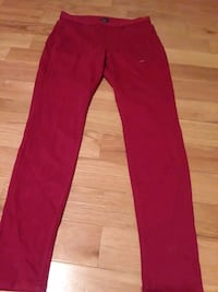 Red Womens Pants