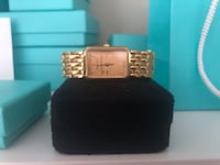 Tiffany and Co. Portfolio Basket Weave Watch. Not Negotiable! Mississauga