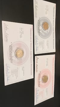 Three coin collections