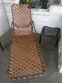 Lounge chair and table Newark, 43055