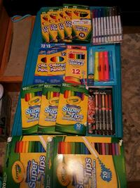 coloring books,pencils and markers and 1 coloring puzzle Youngstown, 44512