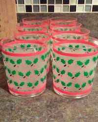 Vintage 80's Lillian Vernon Holiday Cups Frederick, 21701