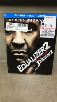 New The Equalizer Bluray  Ajax, L1S 7K8