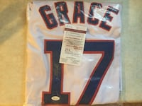 Mark Grace Signed Jersey Manassas Park, 20111