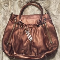 Leather B Makowsky purse