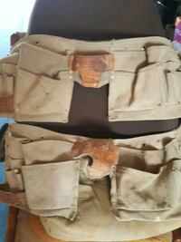 Tool belts(2) leather $5 each Colorado Springs, 80918