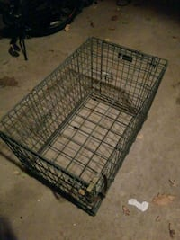 black metal folding dog crate Richmond Hill, L4E 3S6