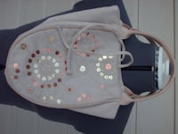 Beige with Sequins Tote Bag -  New! Moore