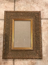 Brushed gold 4x6 frame  Thibodaux
