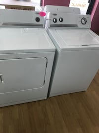 White whirlpool washer & dryer set  Woodbridge, 22191