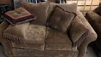 brown suede loveseat Whitby, L1R 2B2