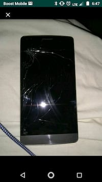 Lg g3 with a cracked screen