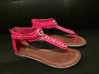 Red sandals made by GUESS size 5 1/2 Kissimmee, 34744