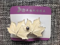 Genuine Pearl chest-pin and hair-pin Burnaby, V5H 4R7