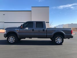 2008 Ford F-250 Super Duty Lariat 4x4 Crew Cab 156 in
