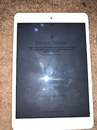 white iPad with black case North Prince George, 23860