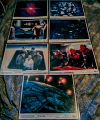 Vintage Original Star Trek Lobby Cards!