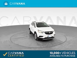 2018 Buick Encore suv Preferred Sport Utility 4D White