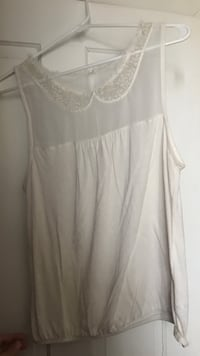 Cream American eagle size large dress tank Piqua, 45356
