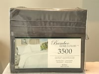 New Bamboo Home Luxury 3500  4 piece Sheet Set King Toronto, M8V 1X6