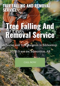 Tree cutting Edmonton