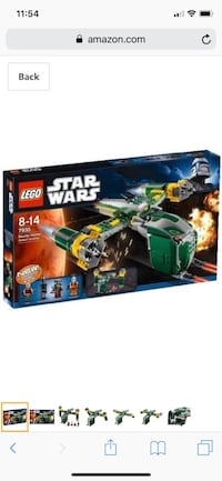 LEGO Star Wars Bounty Hunter Assault Gunship 7930 Gaithersburg, 20877