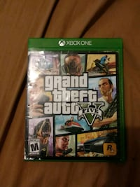 Grand Theft Auto Five Xbox One game case Cleveland, 44105