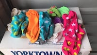 Girls socks ages 4-7 assorted pairs Herndon, 20170