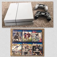 PS4 Destiny edition 500GB console with 2 controllers, 6 games total, 5 were never opened  Played with once or twice...  Denver, 80249