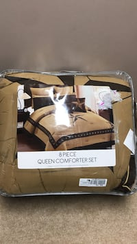 8/ Piece queen comforter set pack Clarksville, 37042