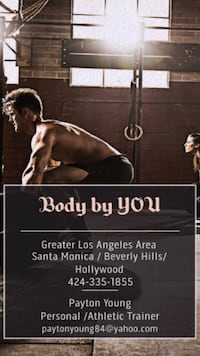Personal training FIRST SESSION FREE Los Angeles
