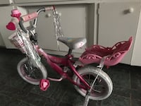 toddler's pink and white bicycle with training wheels Vista, 92084