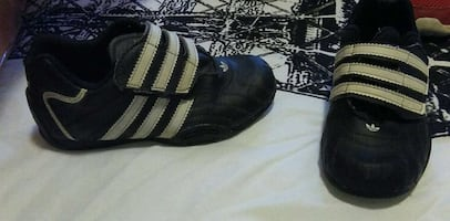 black and white adidas low top sneakers!!!