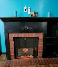 Fireplace w/Shelves and Mantel-VERY NICE! Real Bri Nashville