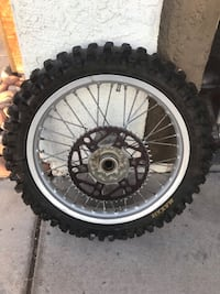 "Ktm Rear wheel 19"" with real good tire  Las Vegas, 89145"