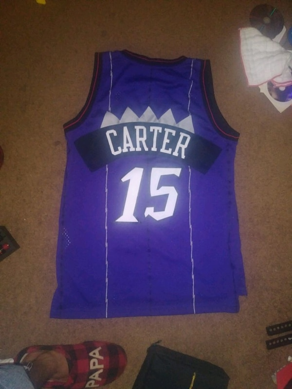 new concept a2ea3 5a8fc Used Raptors Vince Carter Jersey Adidas for sale in ...