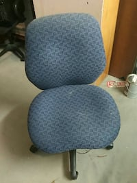 gray and black swivel chair