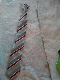 red and gray stripe necktie Muscoy, 92407