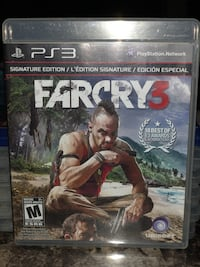 Farcry 3 (ps3 game) (negotiable ) Toronto, M6G 2A9