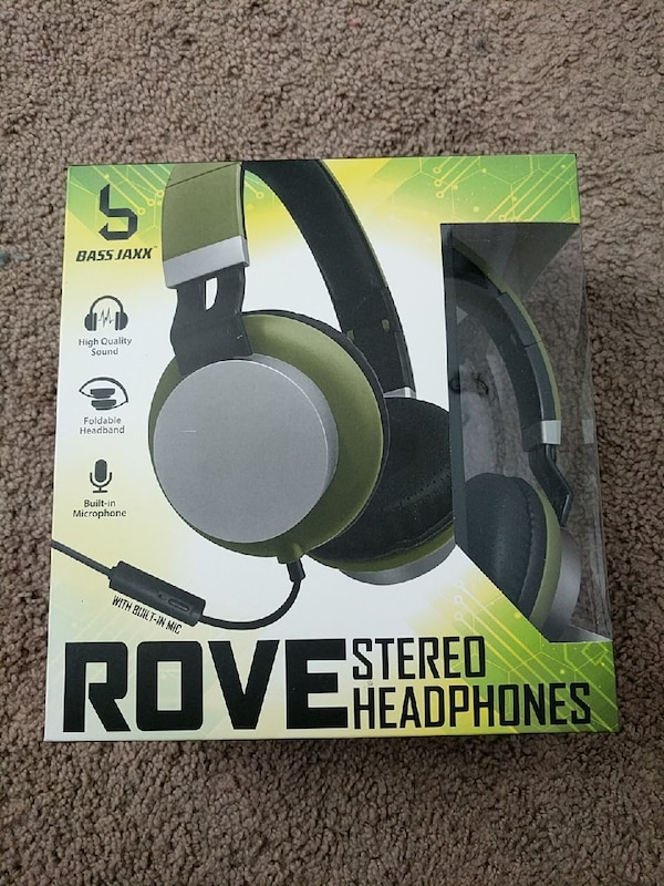 b2ebe727f6e Used Rove Stereo Headphones with Built-in Mic for sale in ...
