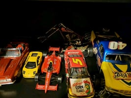 6 toy cars