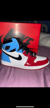 """Retro 1 """"fearless"""" worn once  9.5/10 condition"""